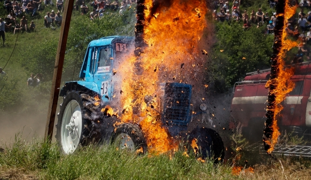 In the Rostov region was named the best Russian tractor driver
