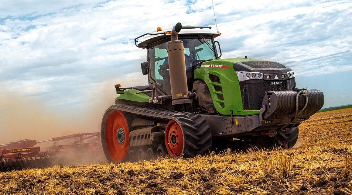 Гусеничный трактор Fendt 1100 MT